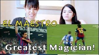 He IS Football! Ronaldinho | Reaction