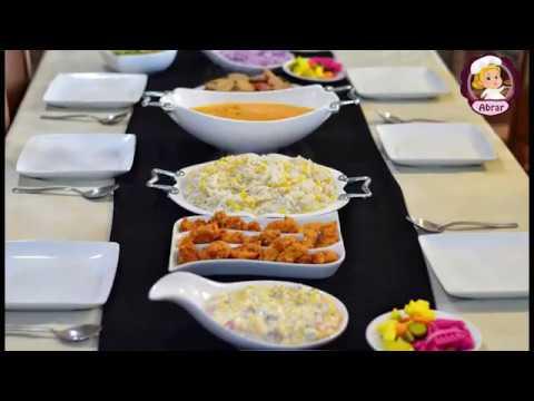 7e3ef2ec6 سفرة فخمة لعزومة أو سفرة رمضانية مميزة أروع من المطاعم - YouTube