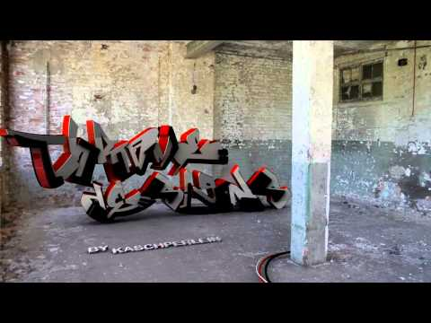 Realistic Traked 3D Graffiti ( Contest Entry CHROMEDESIGNS )