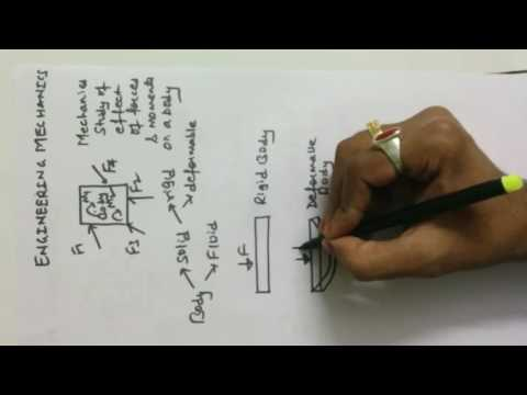Engineering Mechanics for GATE- Lecture 1- Introduction