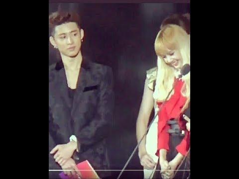 ฺBlack Pink- IKON Moment  Hanbin X Lisa - พี่ฮันบินถึงกับเข่าทรุด
