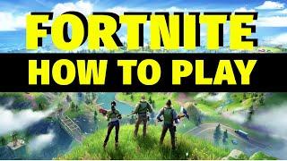 Fortnite Battle Royale Beginner's Guİde | 2020