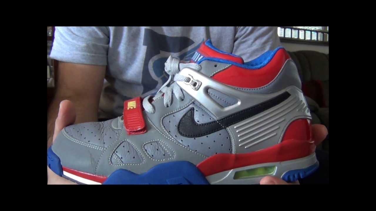 new concept 26592 1d2c0 Nike Air Trainer III Premium Transformers Optimus Prime 2007 Review -  YouTube