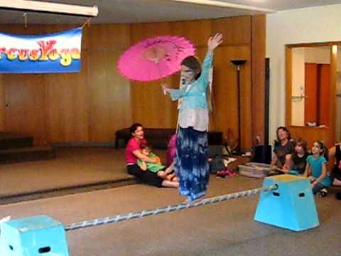 Circus Yoga at Kripalu Center