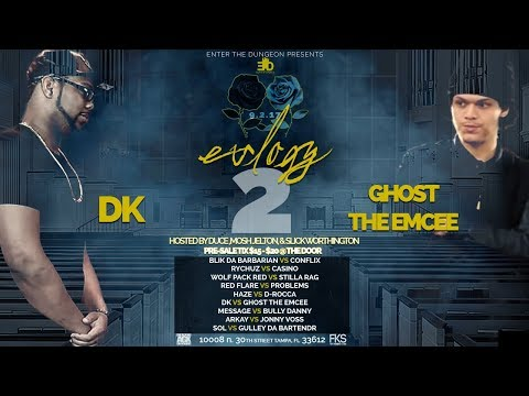 ETD | RAP BATTLE | DK VS GHOST THE EMCEE