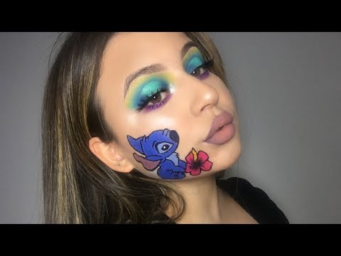LILO & STITCH INSPIRED MAKEUP LOOK thumbnail
