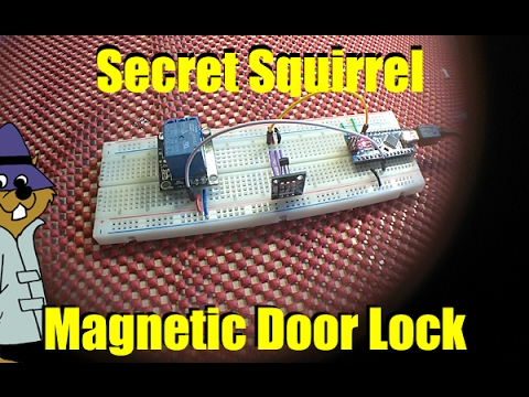 How To Make An Arduino Magnet Actuated Door Lock Youtube