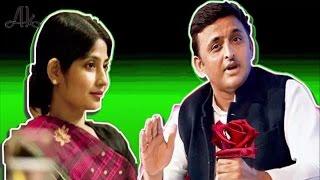 देखिए Akhilesh yadav और Dimple yadav की Love story Akhilesh yadav लंदन से भेजा करते थे फूल...