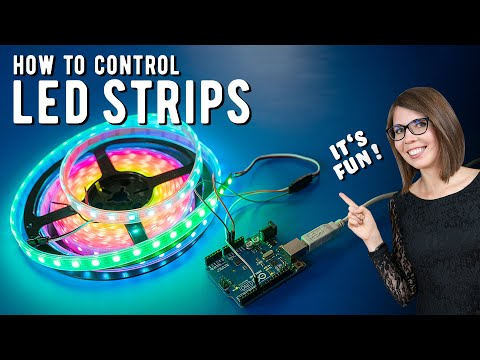 How To Control LED Strips With Arduino - Cosplay Tutorial