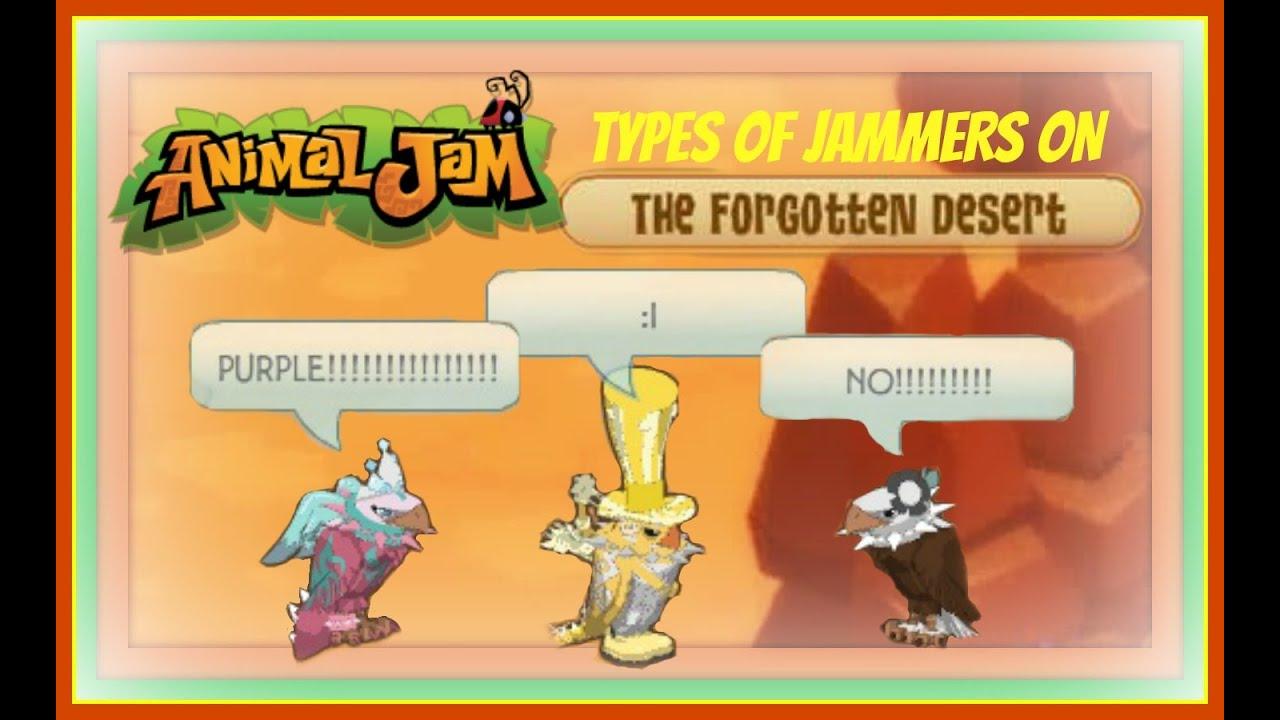 Download Animal Jam: Types of Jammers In The Forgotten Desert