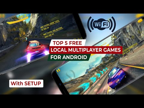 Top 5 Free Local Multiplayer Games For Android (+ Setup) | Wifi Multiplayer Games