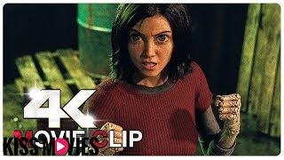 [Kissmovies]Alita Vs Cyborgs - Fight Scene - ALITA BATTLE ANGEL (2019) Movie CLIP 4K