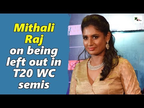 Watch: Mithali Raj breaks her silence on being left out in the T20 WC semi final