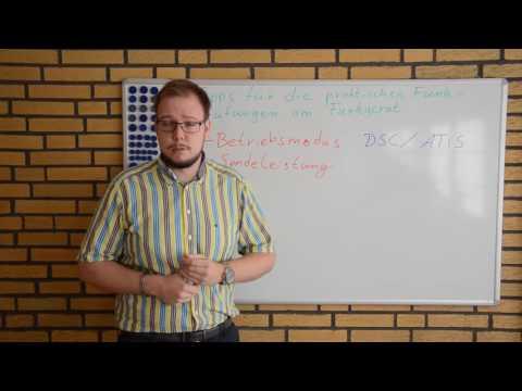 SRC, UBI - Tipps für die praktische Funkprüfung