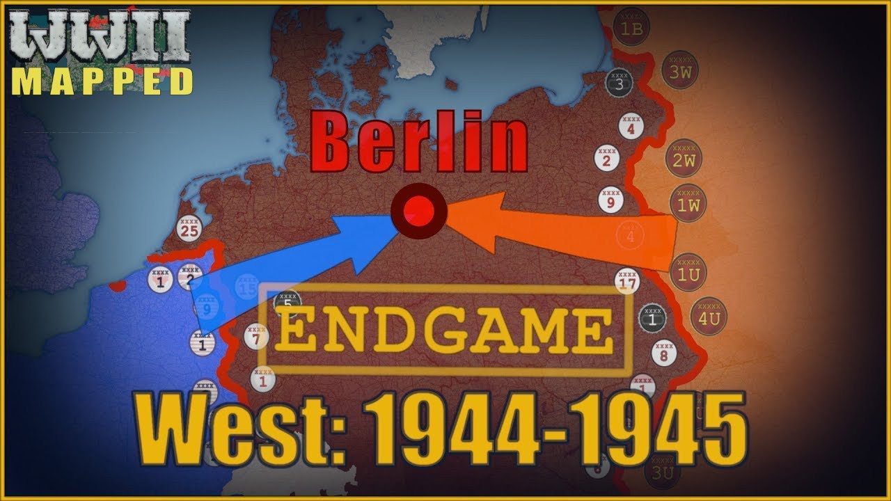 Download WW2 Animated: Western Front, 1944-1945. Part 2