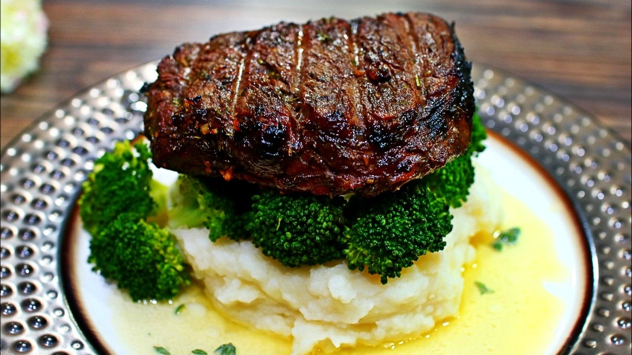 Herb garlic butter filet mignon recipe perfectly grilled - Best marinade for filet mignon on grill ...
