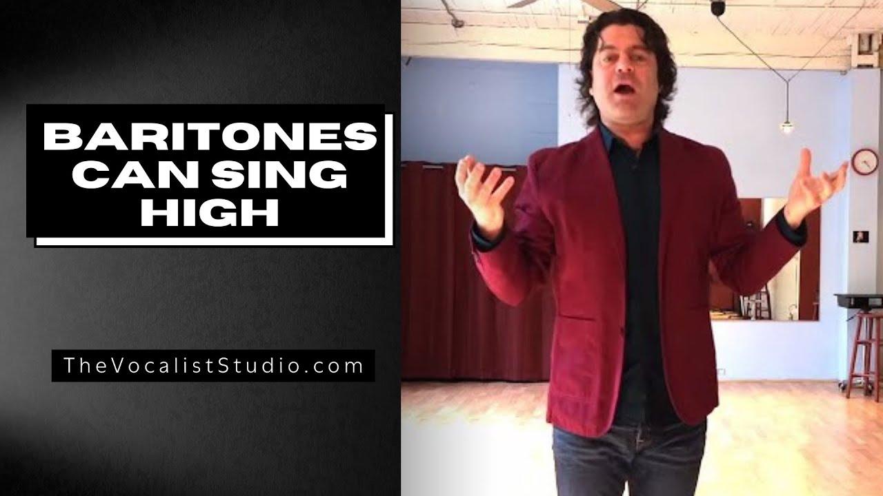 Hitting High Notes - FOR BARITONES!