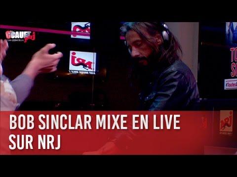 Bob Sinclar mixe en live sur nrj - C'Cauet sur NRJ