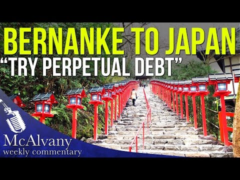 "Bernanke to Japan ""Try Perpetual Debt"" 