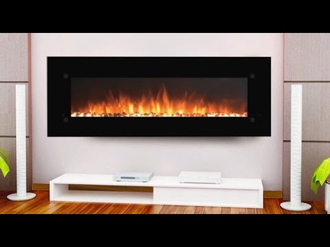 Onyxxl 72 Inch Wall Mounted Electric Fireplace