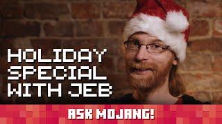 Ask Mojang holiday special with Jeb