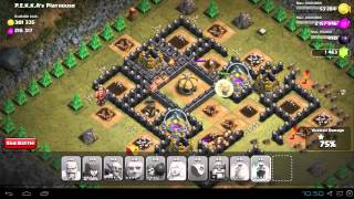 Repeat youtube video Clash of Clans: PEKKA's Playhouse #49 w/ TH 7 units No Dragons