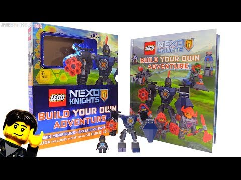 LEGO NEXO Knights exclusive Robin Battle Suit & Build Your Own Adventure book