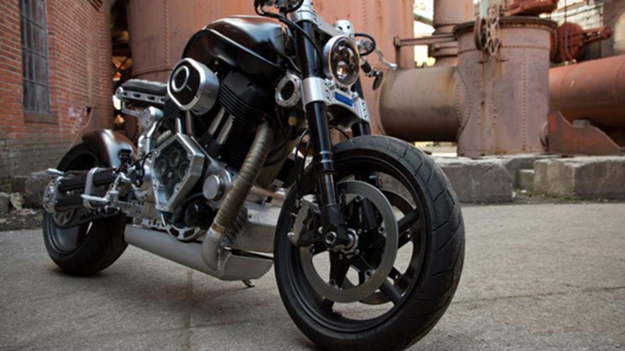 Hellcat Motorcycle - Confederate X132 - YouTube