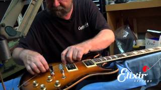 How to restring your Tune-o-Matic bridge with John Carruthers