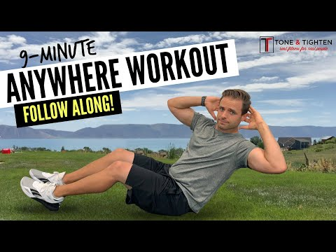 QUICK 9-Minute Total Body Workout No Equipment Required!