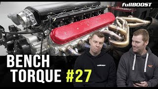 BENCH TORQUE #27 |  Project Cars, RX-8 Salt Mines & Road Safety | fullBOOST