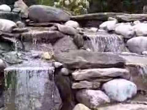 Pondless waterfall installation scotch plains nj youtube for Waterfall installation