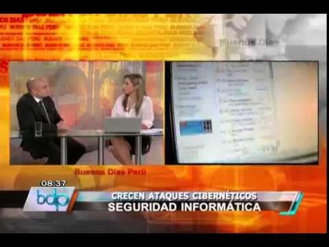 Entrevista buenos dias Peru.. Tema Hacker.