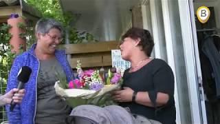 Bloemengroet vanuit Elburg