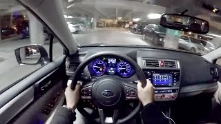 2016 Subaru Legacy - WR TV POV Night Drive