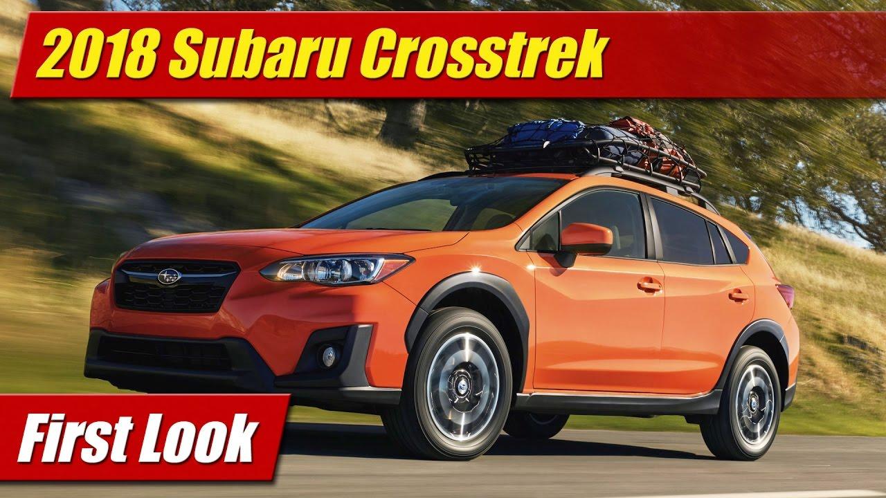 Excellent 2018 Subaru Crosstrek First Look  YouTube