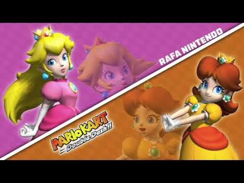 (Re-uploaded) Mario Kart: Double Dash!! Peach & Daisy Voice