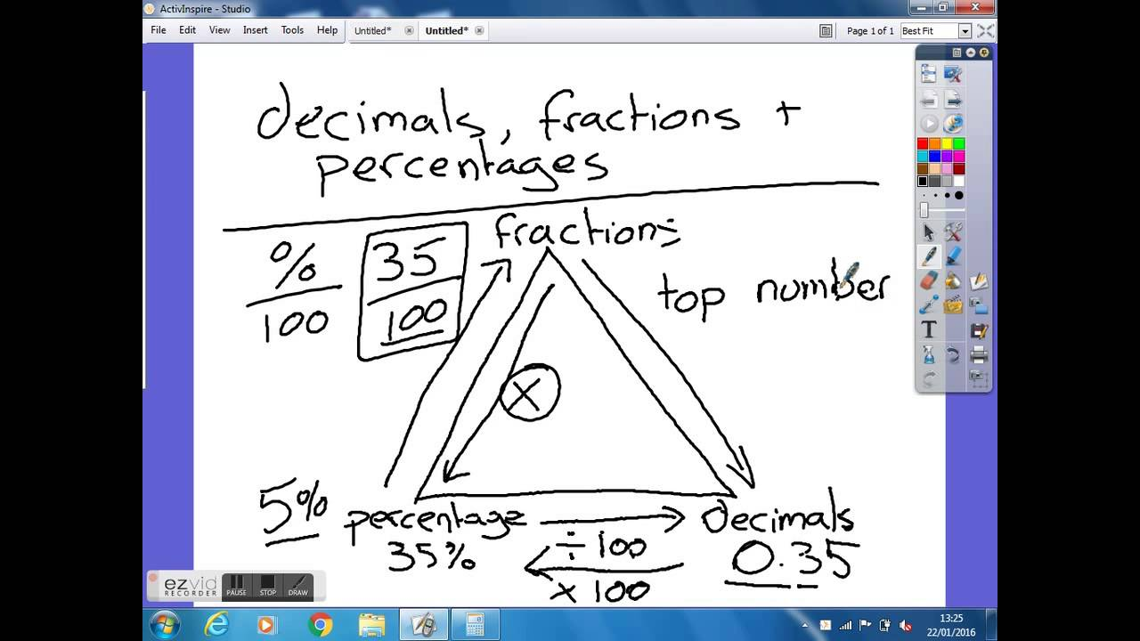 how to work out decimals