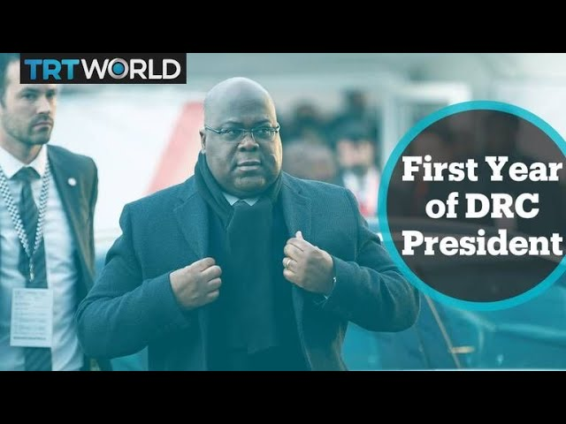 DRC Politics: President Felix Tshisekedi marks first year in office