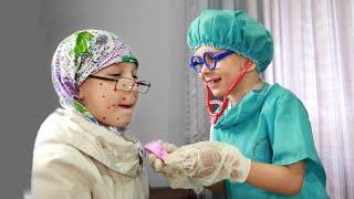 Играем в доктора #1 Лечение ветрянки Видео для детей