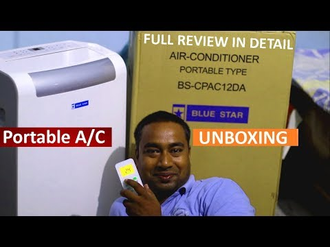 1 Ton Portable Air Conditioner | Full Review On Cooling Performance, Power Consumption , Price Etc