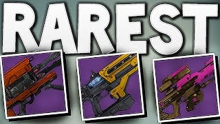 Destiny - RAREST YEAR 1 WEAPONS !!