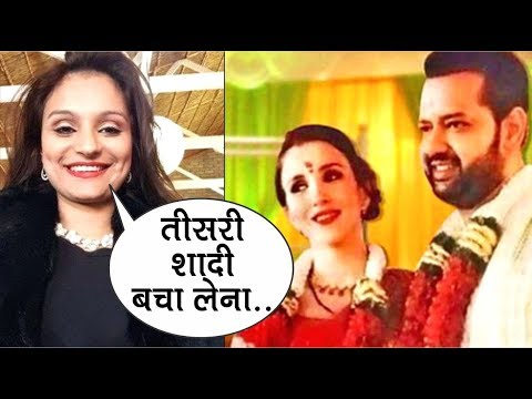 """Rahul Mahajan"" EX Wife ""Dimpy Ganguly"" Reaction On his Third Marriage 