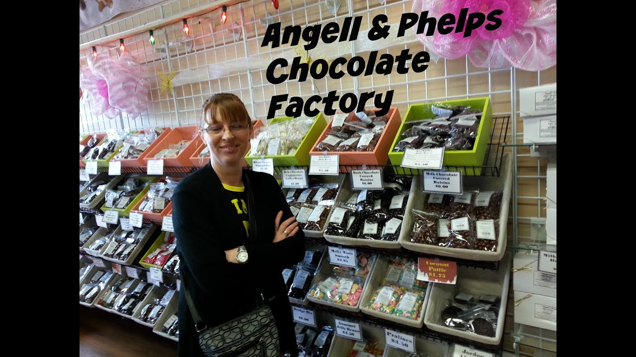 Angell Phelps Chocolate Factory Tour Daytona Beach