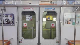 大阪メトロ 長堀鶴見緑地線70系ドア開閉