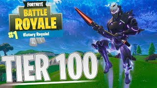 TIER 100 OMEGA SKIN! - Dansk Fortnite