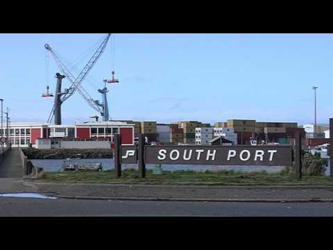 South Port NZ Island Harbour Construction 1
