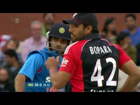 Ajinkya Rahane 61 (39) Debut Match v England T20 2011 @ Manchester