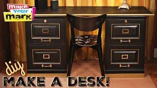 Make A Desk DIY