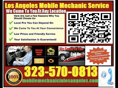 Mobile Mechanic Elmonte CA 323-570-0813 Auto Car Repair Service